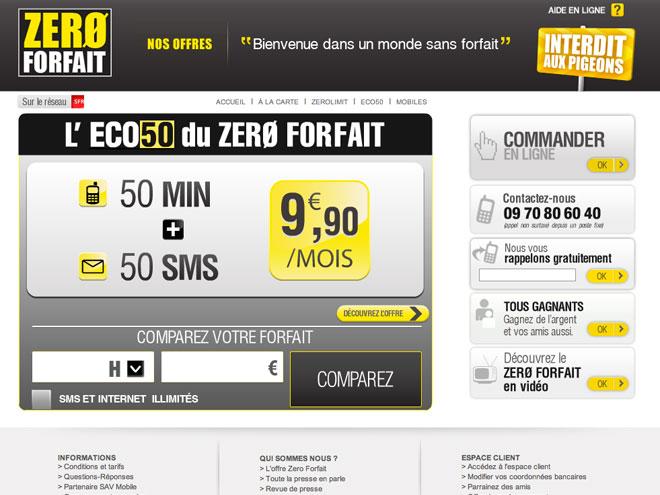 """Zero Forfait : encore mieux que le forfait """"social"""" du gouvernement"""