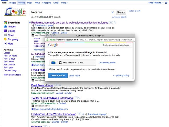 Google + 1 = 0