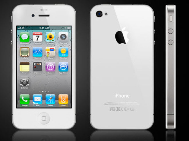 Un iPhone blanc... pour le printemps !