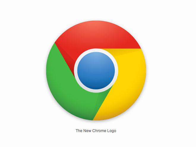 Un nouveau logo pour Google Chrome