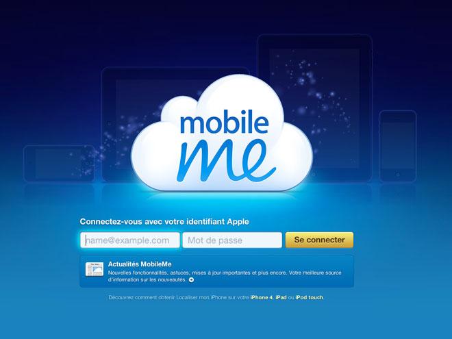 Le nouveau MobileMe pour le mois prochain ?