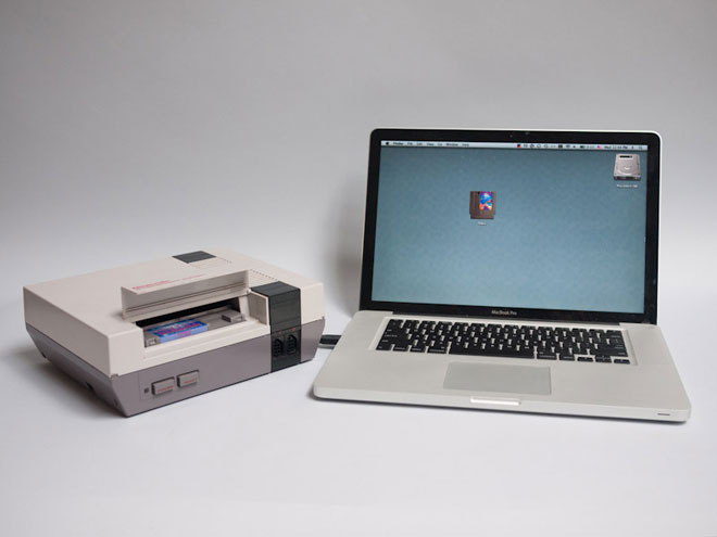 Transforme ta NES en lecteur de cartes flash