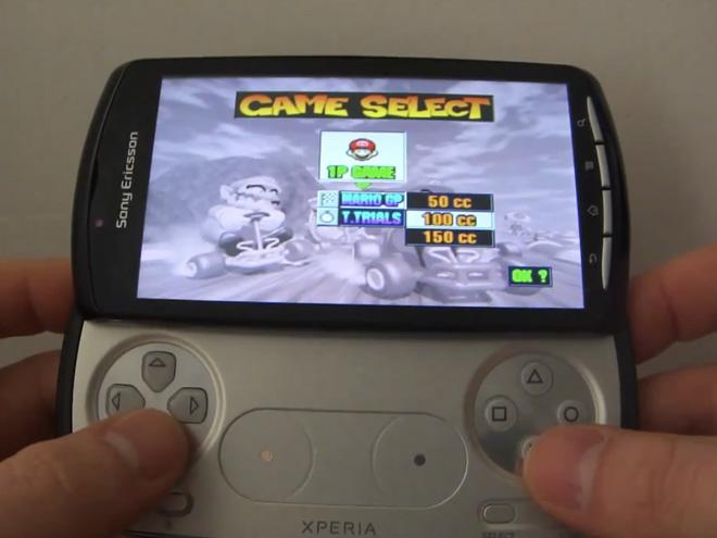 Vidéo : démonstration de N64oid sur le Xperia Play