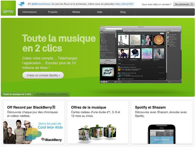 Spotify a été victime d'un virus !