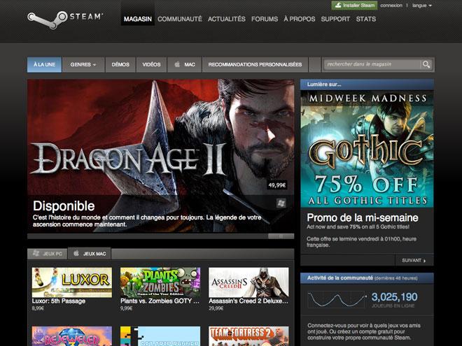 Steam bientôt sur iOS et Google Android ?