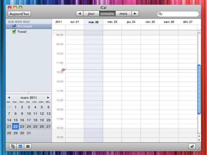 Synchroniser son agenda iCal avec Google Agenda
