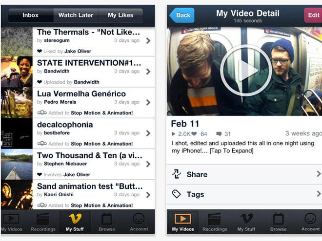 Vimeo débarque sur iOS !