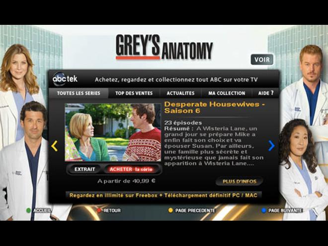 Disney et ABC : du téléchargement définitif sur la Freebox