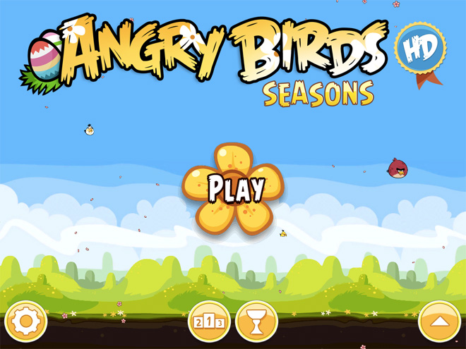 Angry Birds Seasons : Easter Egg est disponible