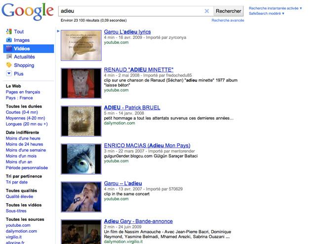 Google Video ferme ses portes