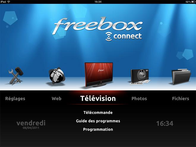Freebox Connect, toute ta Freebox sur ton iPad