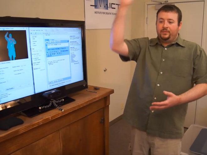 Gmail Motion : ça marche, mais avec un Kinect
