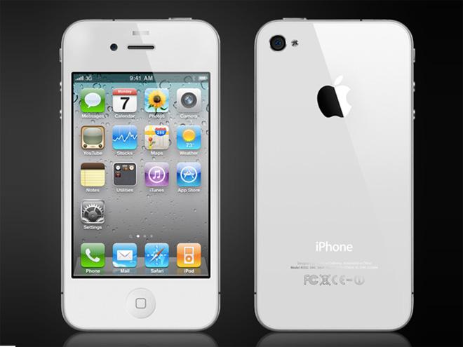 iPhone 4 blanc : lancement dès demain