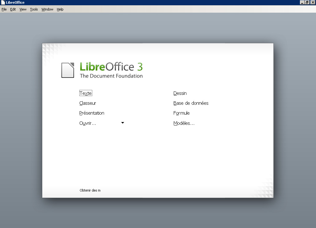 LibreOffice 3.4 : la beta 1 est disponible !