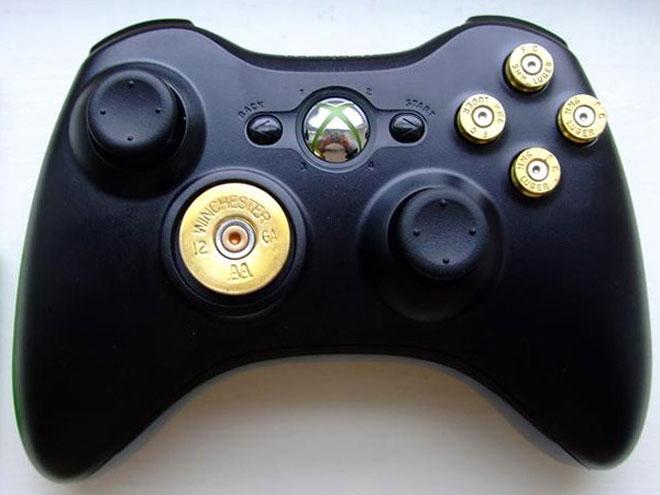 Une manette Xbox 360 faite pour les hommes, les vrais