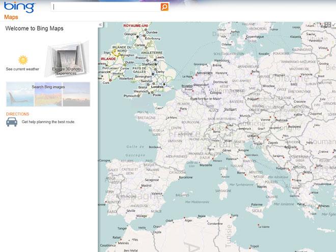 Microsoft Street Side, le concurrent de Google Street View