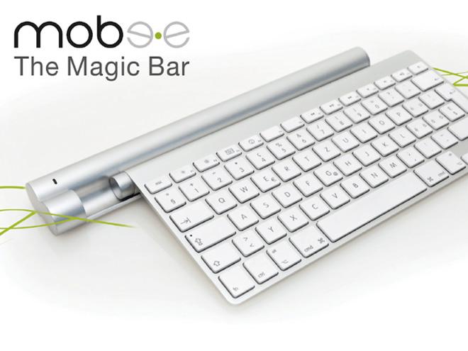 Mobee : un chargeur à induction pour le clavier Apple et pour le Magic Trackpad