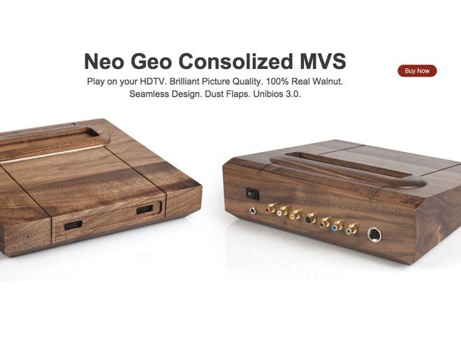 Casemod : une Neo Geo MVS en bois !