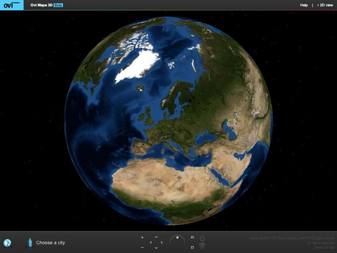 OVI Maps 3D, balade toi dans les plus grandes villes du monde en 3D