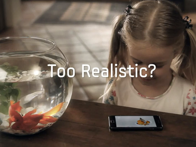 Samsung Galaxy S 2 : la toute première publicité