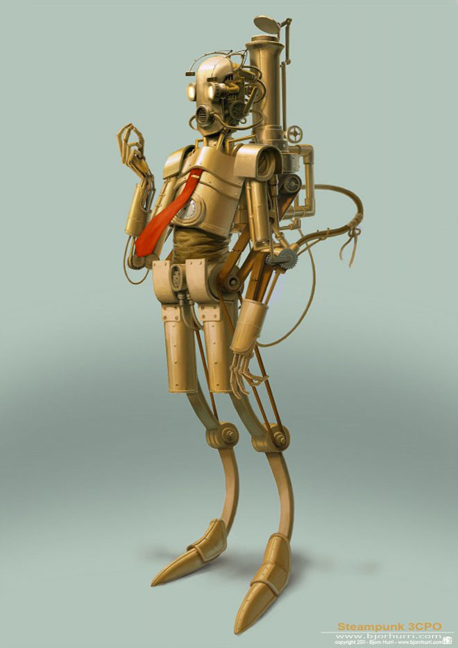 Star Wars en steampunk