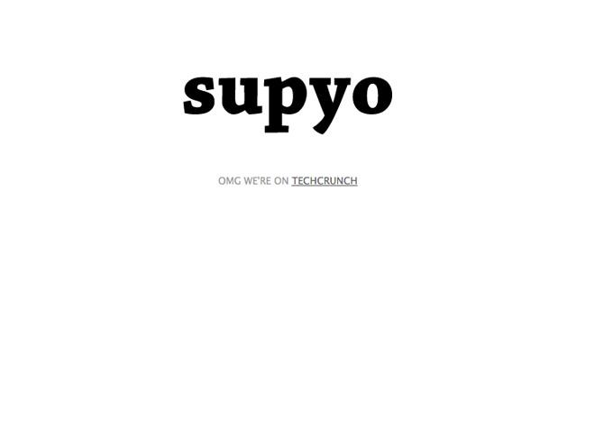 Supyo, le nouveau projet des créateurs de Napster