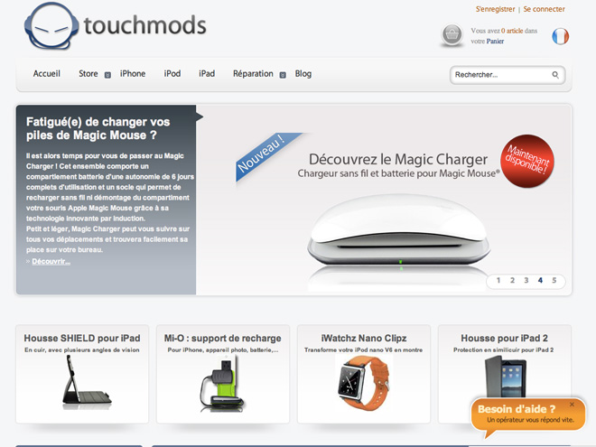 TouchMods : 15 % de réduction sur vos achats !