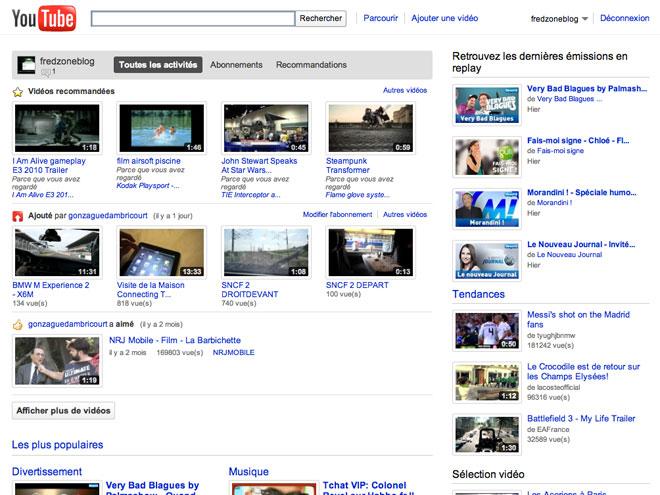 YouTube passe au WebM