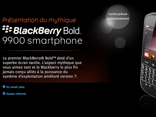 BlackBerry OS 7 : pas d'applications Android !