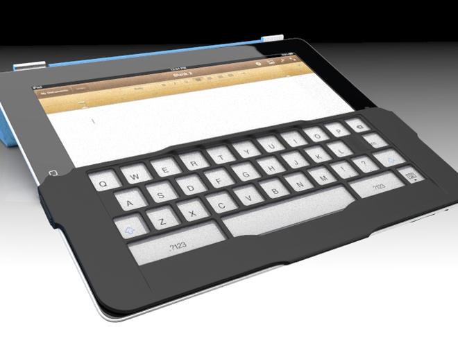 iKeyboard, un concept malin pour iPad et iPad 2