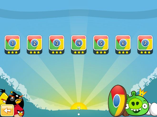 Angry Birds : débloquer tous les niveaux de la version web