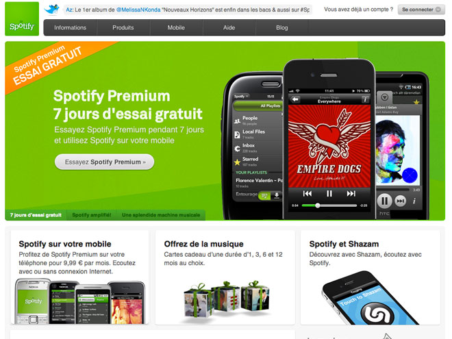 Spotify : bientôt des films ?