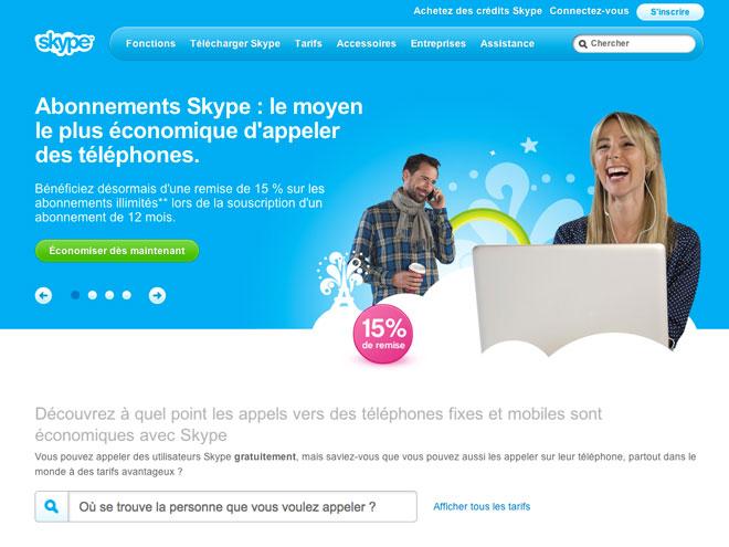 Google et Facebook se rapprocheraient de Skype