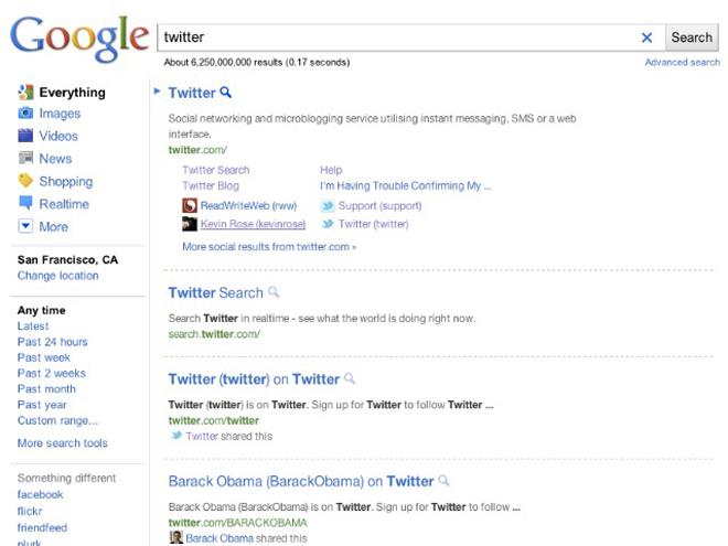 Google teste une nouvelle interface de recherche