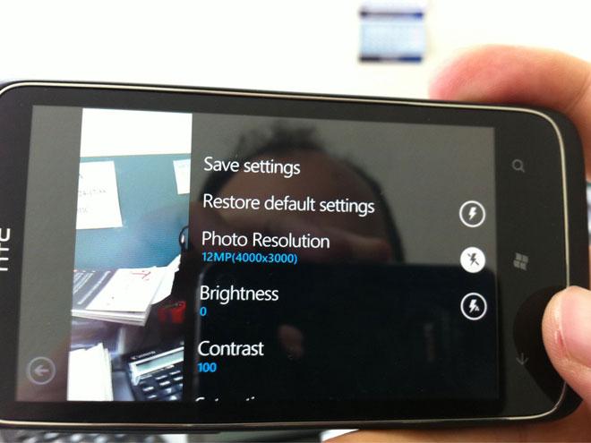 HTC : un Windows Phone avec un capteur de 12 mégapixels leaké sur le web