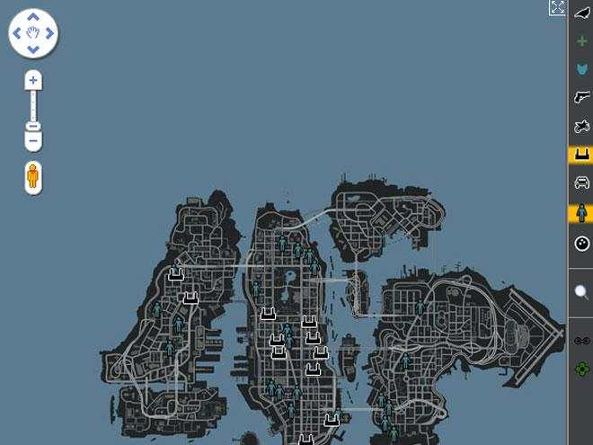 GTA IV : Liberty City modélisée dans Google Maps Street Views !