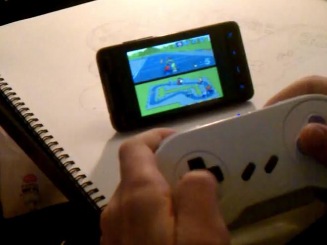 Transforme ta manette SNES en contrôleur pour ton mobile sous Google Android !
