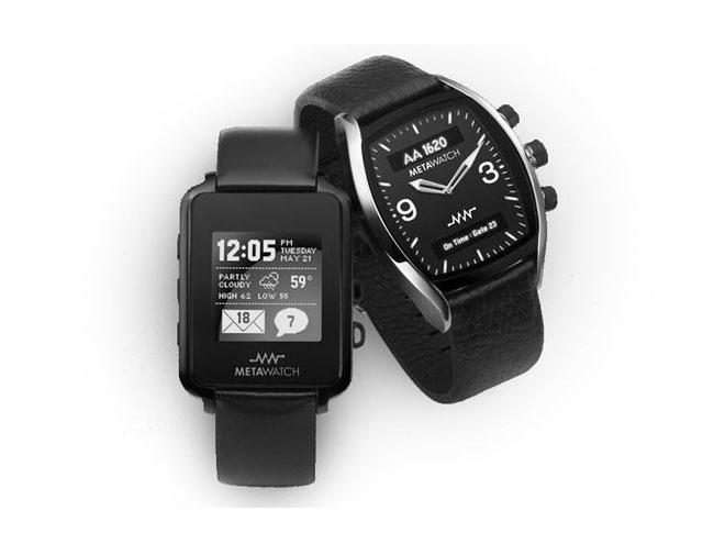 MetaWatch, la montre qui se connecte à ton smartphone