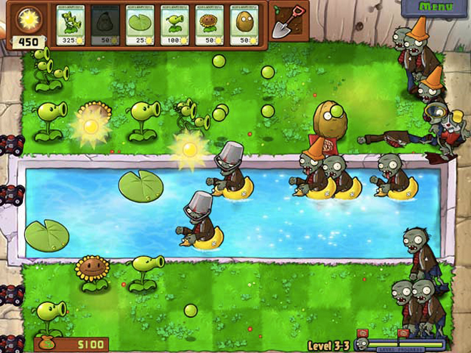 Plants vs Zombies maintenant disponible sur l'Amazon AppStore !