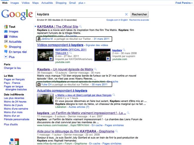Google : la recherche sociale débarque dans le monde entier