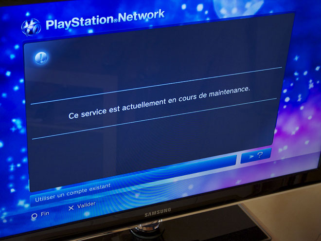 PSN : retour progressif du PlayStation Network