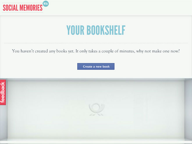 Social Memories, pour écrire un livre avec son profil Facebook