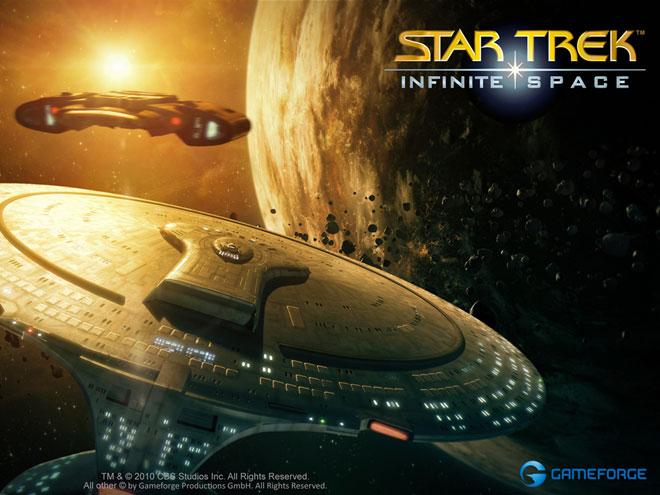 Star Trek Infinite Space : Star Trek dans ton navigateur !