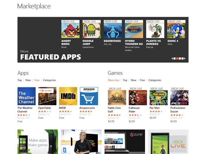 Windows Phone 7 : bientôt une version web du Marketplace