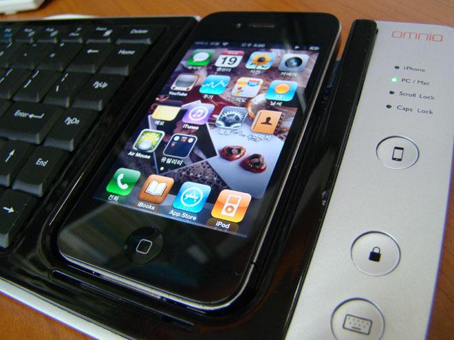 Omnio Wow Keys, un clavier complet pour votre iPhone et votre Mac / PC