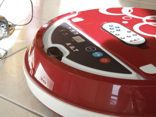 AGAiT, le robot aspirateur qui fait le ménage à ta place