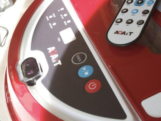 AGAiT Eclean EC01, le robot aspirateur qui fait le ménage à ta place