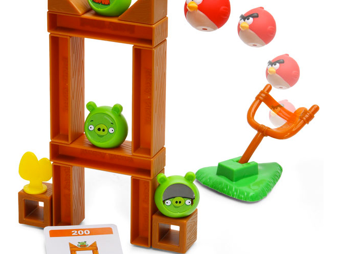 Angry Birds Knock on Wood est disponible !