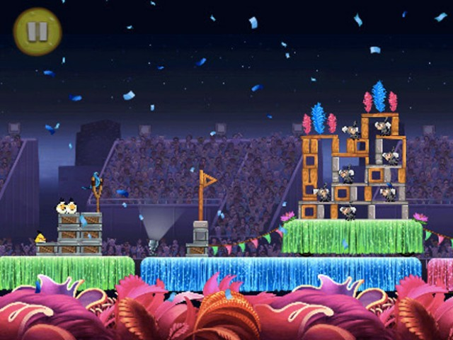 Angry Birds Rio : Samba est disponible !