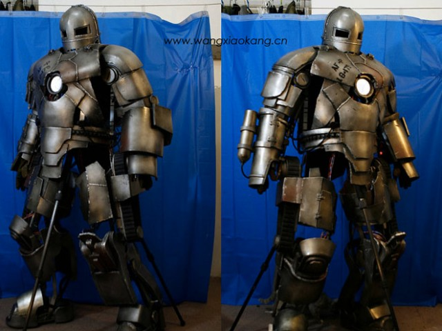 Vidéo : une reproduction de l'armure d'Iron Man Mark 1